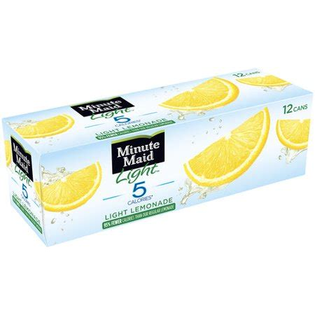 minute light lemonade minute light lemonade 12 ct walmart