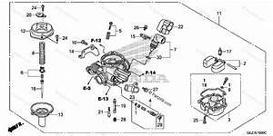 Honda Scooter 2007 Oem Parts Diagram For Carburetor