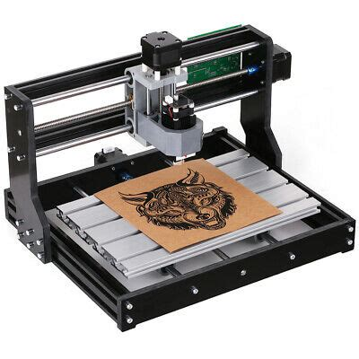 cnc  machine router  axis engraving pcb wood diy milling engraver laser ebay
