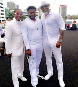 Eddie Long All White Party