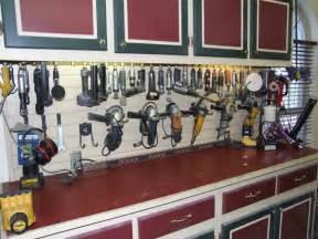 Air Tool Storage Garage