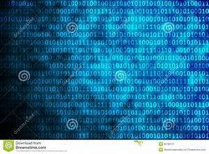 Shiny Blue Binary Code Royalty Free Stock Photography ...