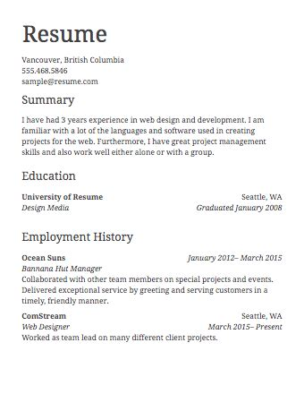 Creating A Resume by Creating A Resume Template Bestshirt Info