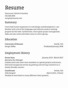 easy online resume builder create or upload your resume With how to do a resume for work