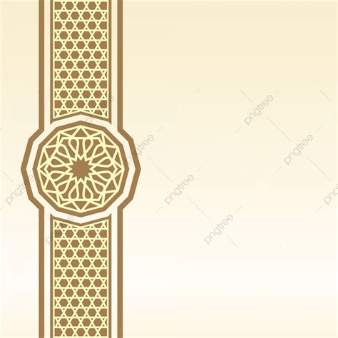 islamic border background  greeting  pattern