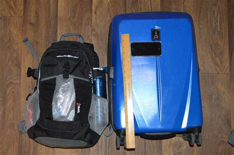 united checked baggage air now allows free 22 lb carry on bag but can you