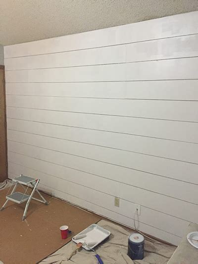Where To Buy White Shiplap by How To Install Pre Painted Shiplap Metrie