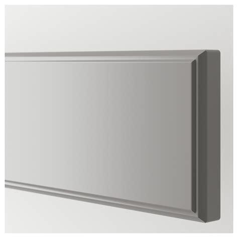 fa軋de de cuisine ikea bodbyn de tiroir gris 80x10 cm ikea