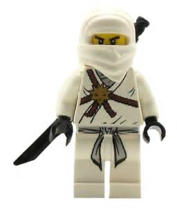 LEGO Ninjago White Ninja Zane