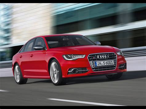Audi S6 Front by 2012 Audi S6 Front Angle Speed 1280x960 Wallpaper
