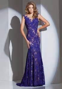 designer evening dresses buy tailor made fashion designer neck cap sleeves cutout back purple lace evening dresses