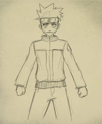How to Draw Naruto Body