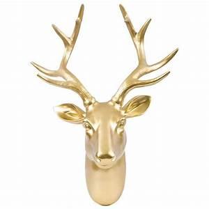 Best ideas about faux deer head on white