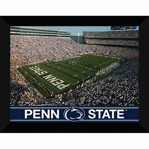 shop 22 in w x 18 in h penn state framed wall art at lowescom With kitchen cabinets lowes with penn state wall art