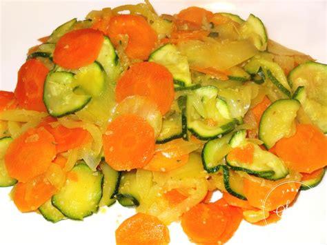 plats simple a cuisiner carottes et courgettes braisées la tendresse en cuisine
