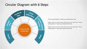 Circular Diagram With 8 Steps For Powerpoint