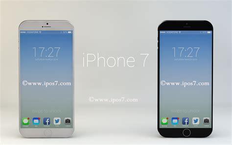 i phone 7 posibles especificaciones iphone 7 de apple