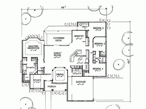 4 bedroom house plans one 4 bedroom country house plans smalltowndjs com