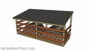 4 Cord Firewood Drying Shed Woodworking Plan