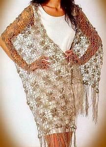 Fine Lace Flower Motif Crochet Shawl Pattern  U22c6 Crochet Kingdom