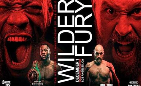 Sports : Date, Time and Channel Deontay Wilder vs Tyson ...