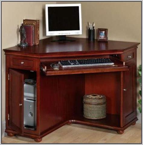 Small Black Computer Desk With Hutch   Desk : Home Design