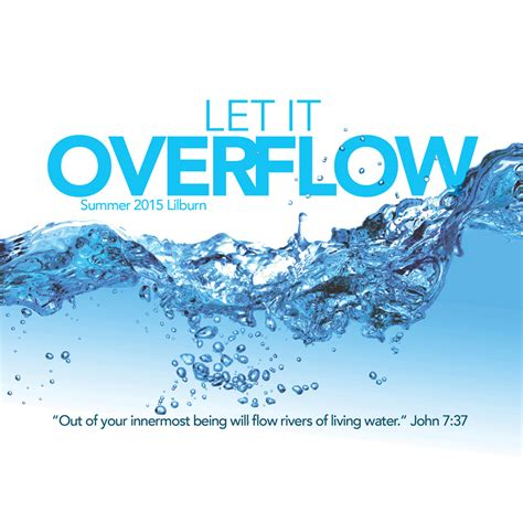 Let it Overflow - Lilburn Alliance Church