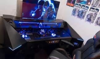 design pc tisch project alternate in diesem tisch steckt der ultimative gaming rechner gaminggadgets de