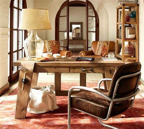 Bench Style Office Desks from Pottery Barn   small and