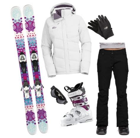 How To Style Ski Clothing For Women 2018