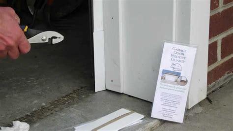 sealrodent proof garage door   garage door