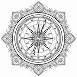 Venti Wind Rose Compass Rosa Dei Grafische Kompas Nam Toe Coloring Grafisk Line Bussola Grafica Della Vector Nautical Template Illustratie sketch template