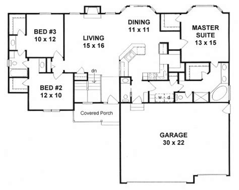 home plans with mudroom plan 1539 3 bedroom ranch w mud room walk in pantry