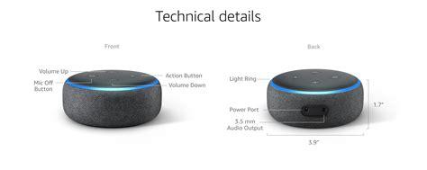 echo dot echo dot 3rd generation enabled bluetooth speaker