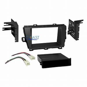 Car Radio Stereo Single 2 Din Dash Kit Wire Harness For