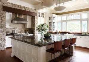 Large Kitchen Designs With Islands Wonderful Large Square Kitchen Island Favething