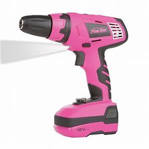Dewalt Cordless Drill With Led Light The Original Pink Box 18 Volt Lithium Ion Rechargeable