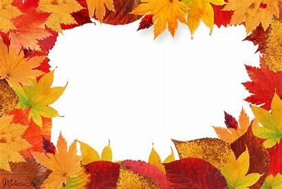 Leaves Autumn Leaf Frame Clipart Cut Tm