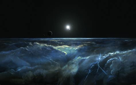 Space Paint Vision Wallpaper  Space  Wallpaper Better