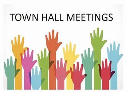 Hall Town Meeting Virtual Clipart Meetings Hshm