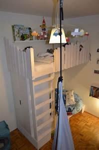Ideen Mit Ikea Möbeln : die besten 25 hochbett selber bauen ideen auf pinterest ~ Lizthompson.info Haus und Dekorationen