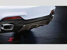 Rear diffuser carbon BMW MPerformance for MTechnic