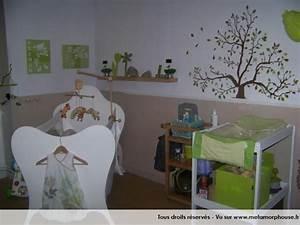 Décoration Chambre De Bébé : decoration chambre de bebe mixte ~ Teatrodelosmanantiales.com Idées de Décoration