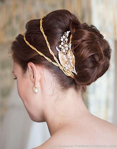 modern wedding hairstyles  bun