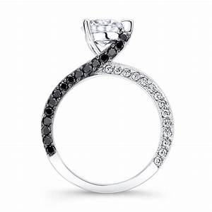 Barkev39s black diamond engagement ring 7870lbk for Black wedding rings with diamonds