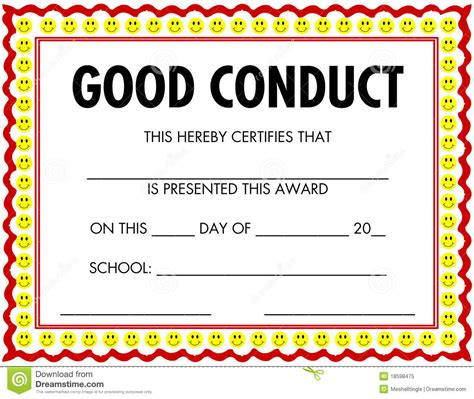 Certificate Of Conduct Template by Conduit Clip Clipart Panda Free Clipart Images