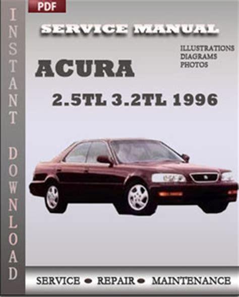 service repair manual free download 2001 acura tl parking system acura 2 5tl 3 2tl 1996 free download pdf repair service manual pdf