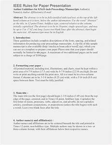 ieee format template for paper presentation themomentsco With ieee paper format template download
