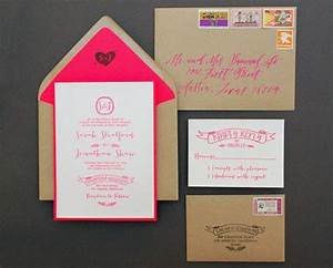 24 diy wedding invitations that will save you money for Easy diy wedding invitations instructions