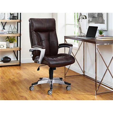 alain office chair by sealy brown